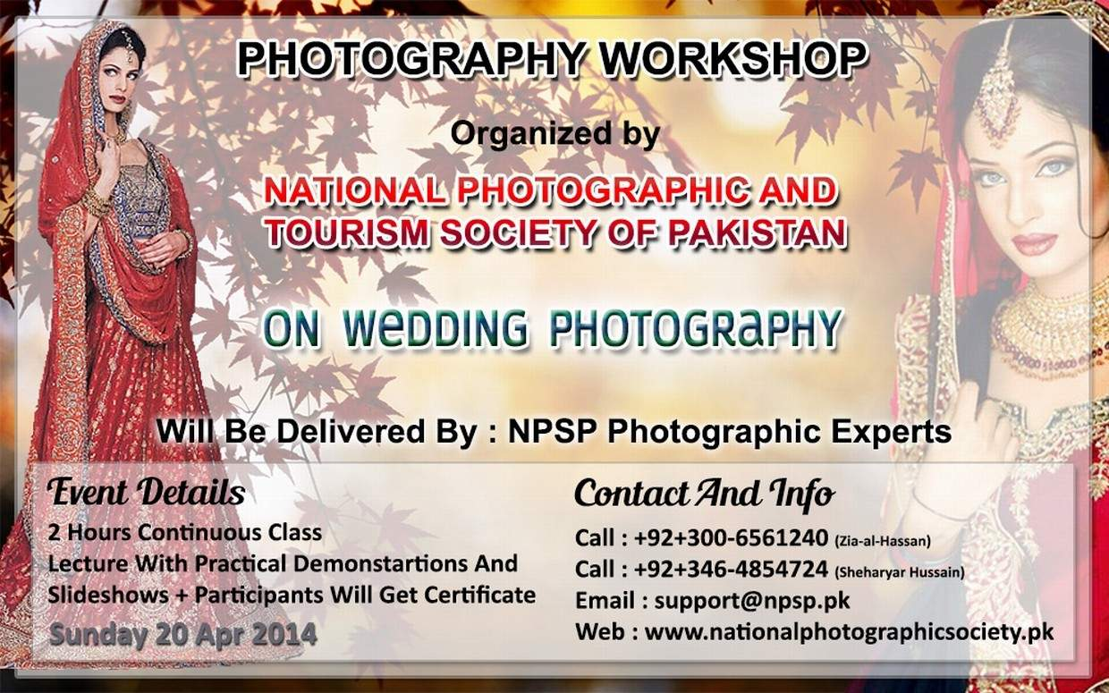 04. Photography Workshop In Lahore Pakistan On Wedding Photography